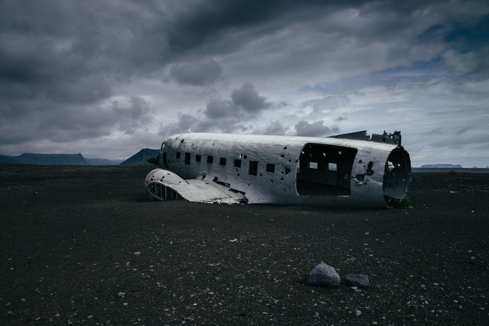 Wrecked DC-3