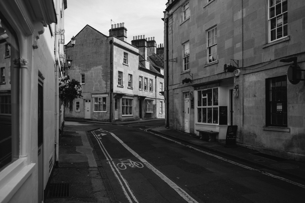 Alleyways in Bath