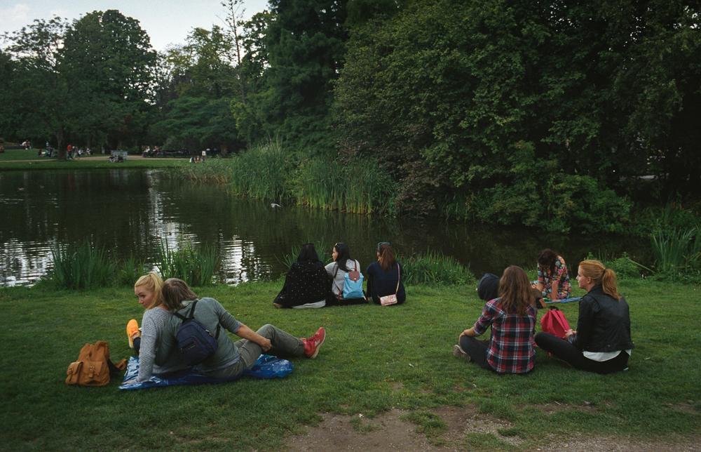 Parkside. Amsterdam.