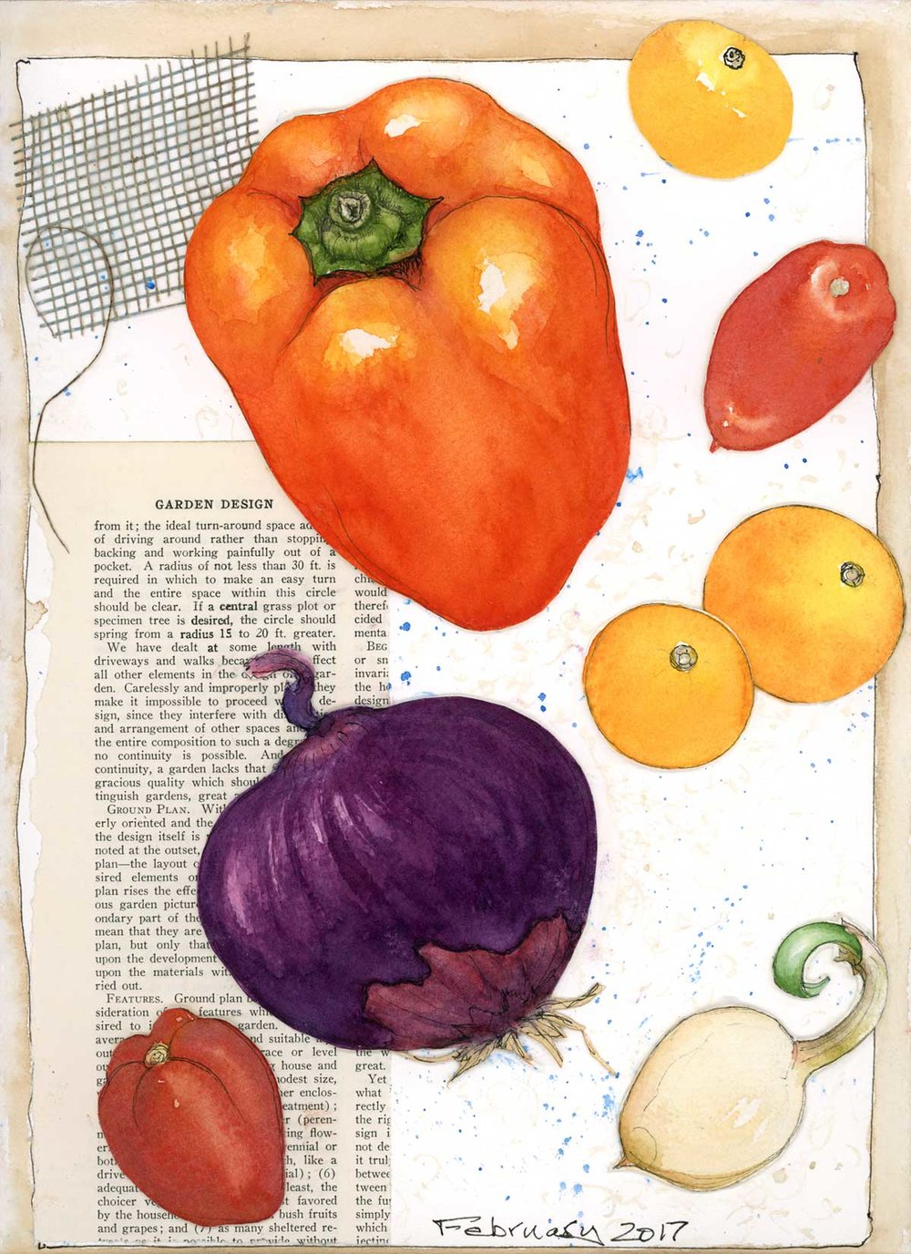 Tomatoes, Onion, Garlic