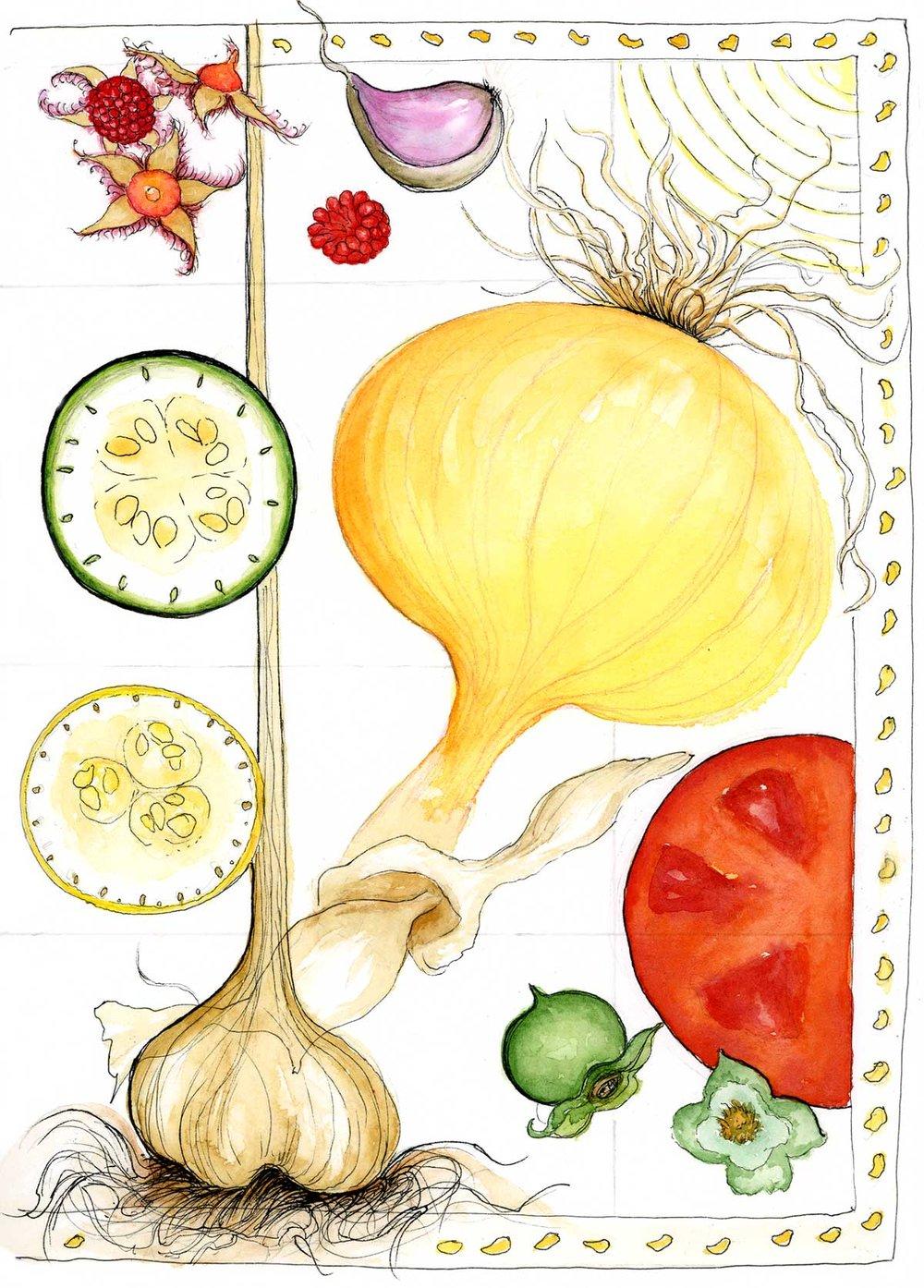 Onion Berries