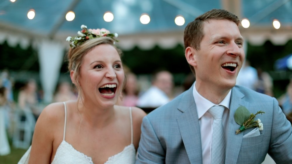 You should actually enjoy watching your wedding film -
