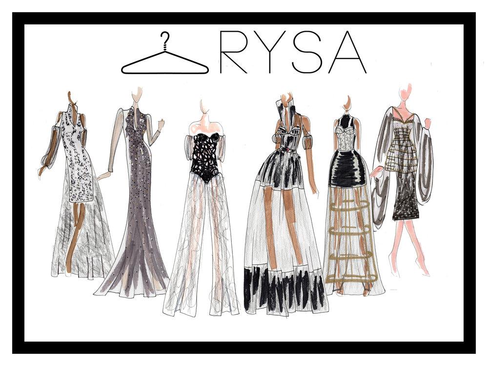 Initial Fashion Sketches