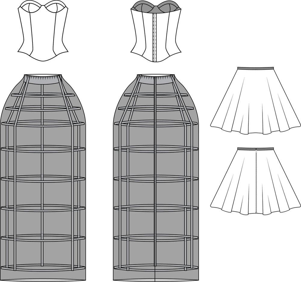 Flats Three Piece Dress