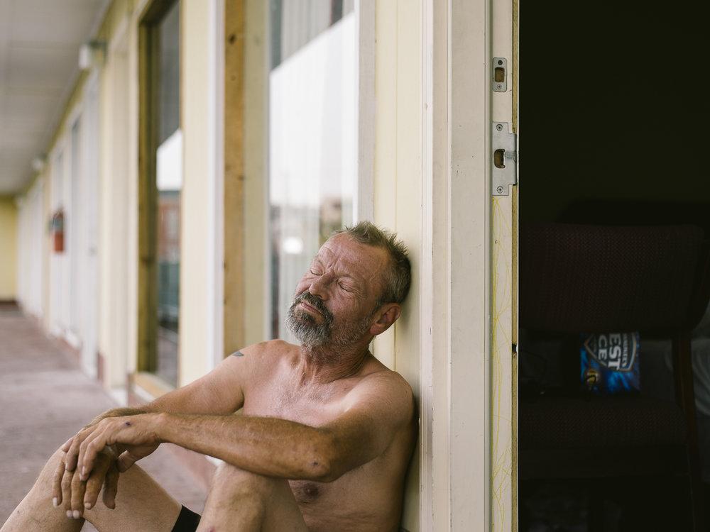 Lonnie at the Benton Inn , 2016, Benton, KY