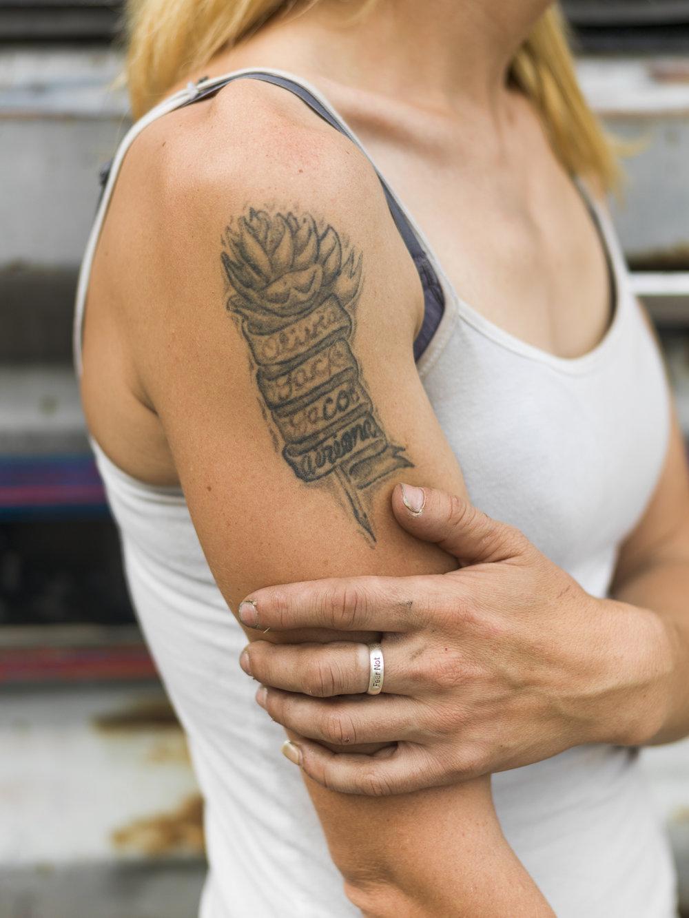Tattoo , 2018, Lincoln, NE