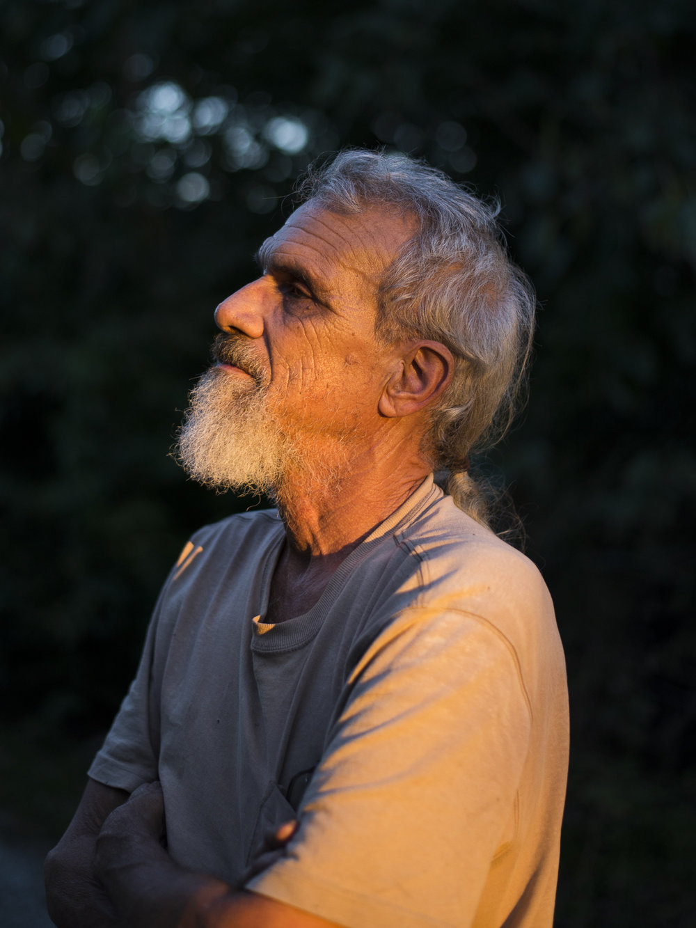 Bruce at Golden Hour , 2017, Lincoln, NE