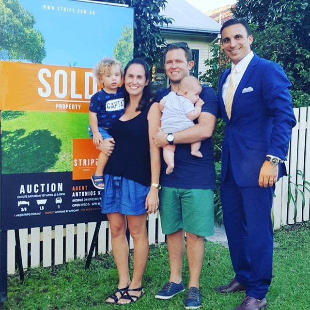 Phenomenal result. We welcome the new owners to Cromer. Beautiful couple.  #sold #stripeproperty #boutiqueagency #personalservice #weloveoneononeservice #auction #realestate #cromer #northenbeaches #realestateagent