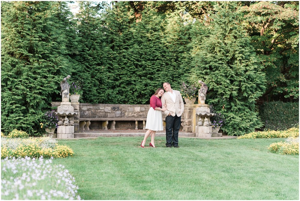 NJ Ringwood Manor Skylands Botanical Gardens Engagement Session