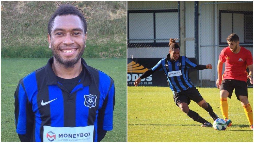 New signing, Roland Bala
