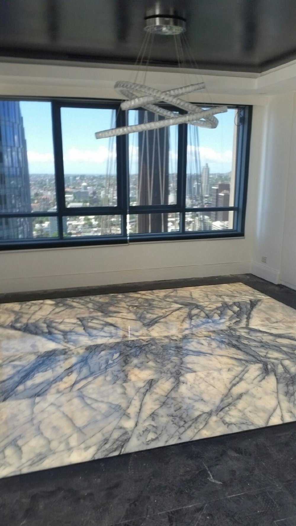 Ever thought of illuminated marble flooring? Here it is. This shows how elegant and versartile our panels can be. Pixalux fact - our panels can take 4-6 tons/sq metre.