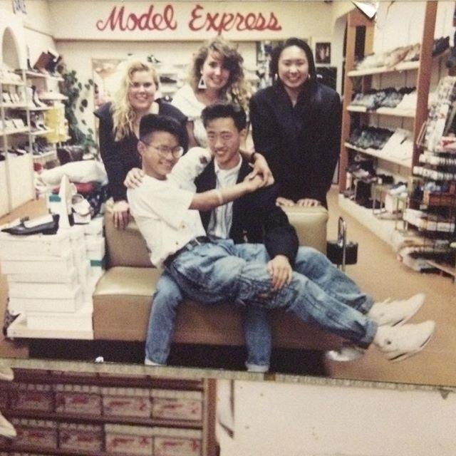 Model Express circa the 80s! #vancity #FBF #flashbackfriday #notmuchhaschanged #justsexier #especiallythestaff
