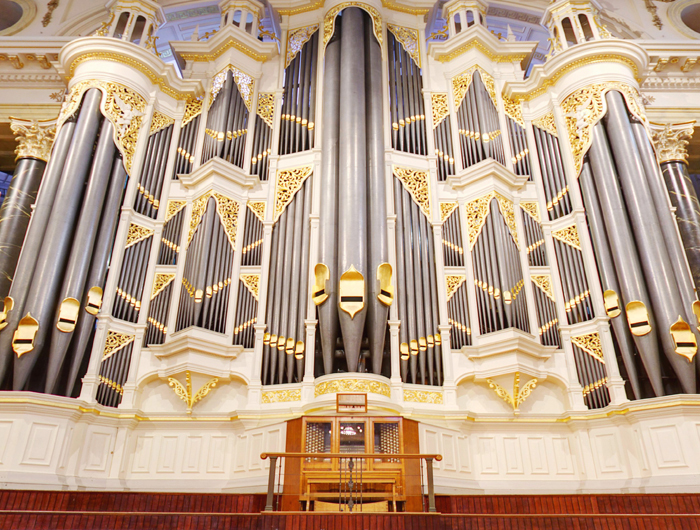 Organ at the Sydney Town Hall