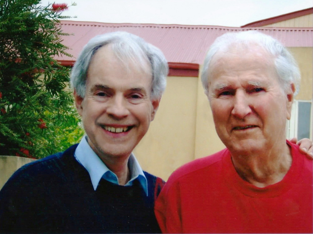 David Ross-Smith and David Hodges in 2007.