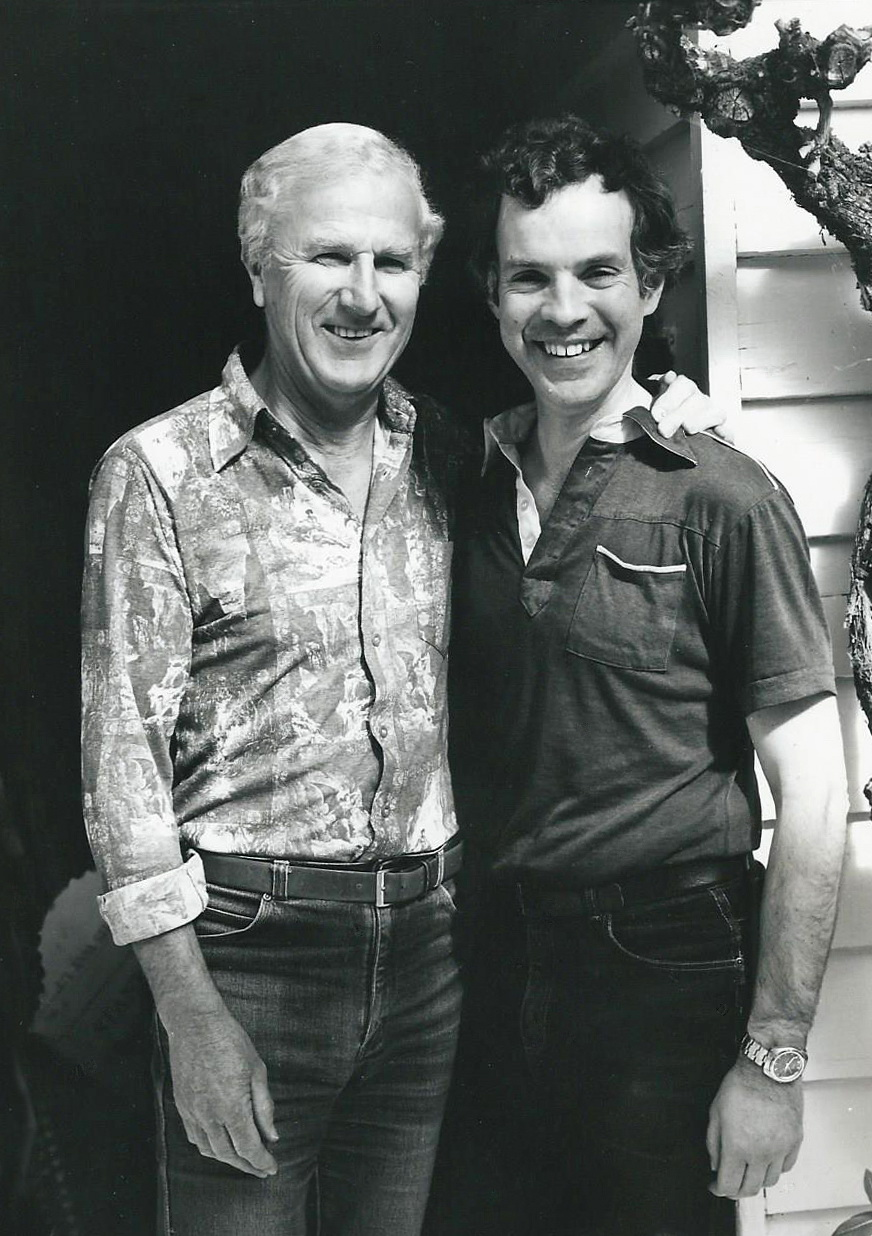 David Hodges and David Ross-Smith in 1984.