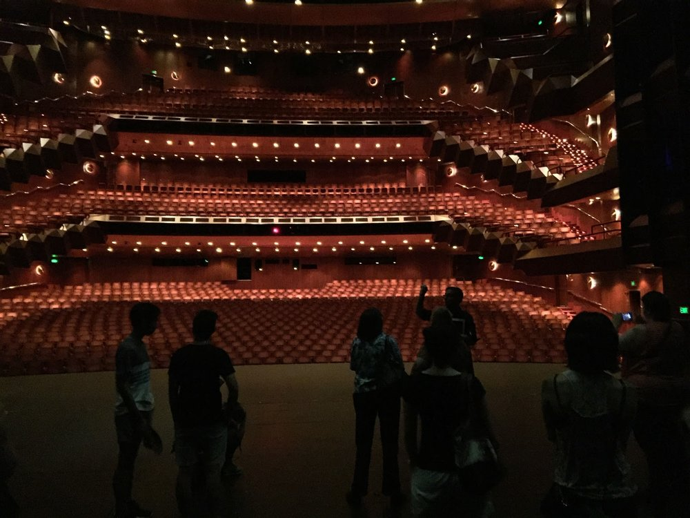 View of the State Theatre from the stage