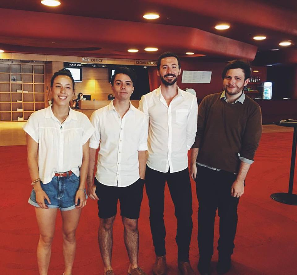 Cassie To, Connor D'Netto, Ade Vincent and Stephen de Fillipo at the Melbourne Recital Centre.