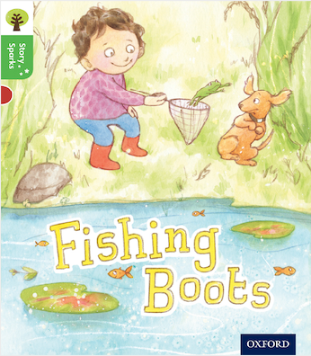 Fishing Boots - Jeanne Willis - OUP - 2017