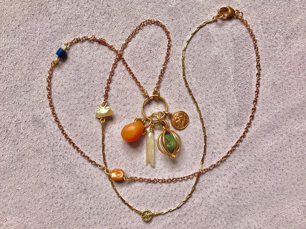 Co-Creation Mixed Chain, Egyptian Magic Necklace by tara Turner.jpg