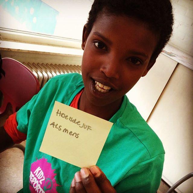 Wie is mijn juf? #pakhuisvooronderwijsinnovatie #kinderrechten #passendonderwijs #stemvdleerling #changemakers