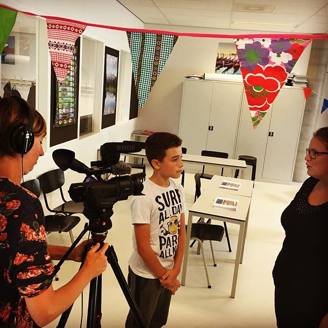 Leerlingen laten hun scholen shinen! #onderwijs2032 #laks #wiserfilm #ijburgcollege