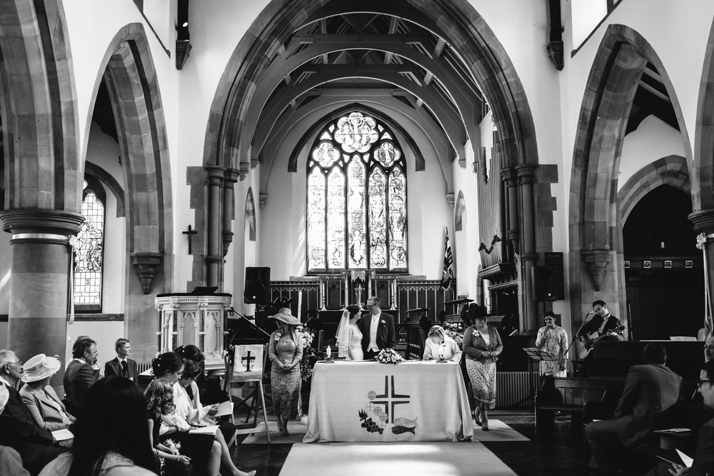 Copy of Bride and Groom Warwickshire Wedding John Colson Photography