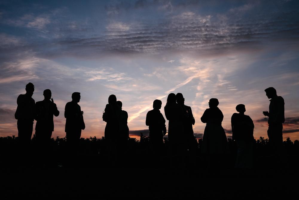 John Colson Wedding Photographer Sunset