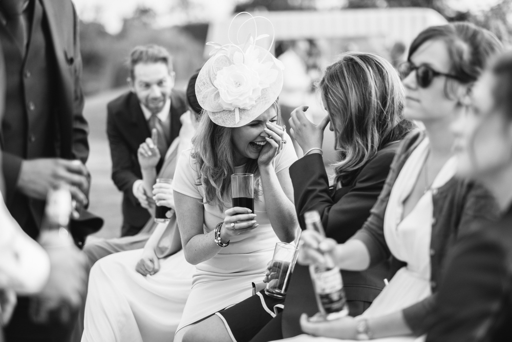 Copy of Guests at Wootton Park Warwickshire Wedding John Colson Wedding Photography