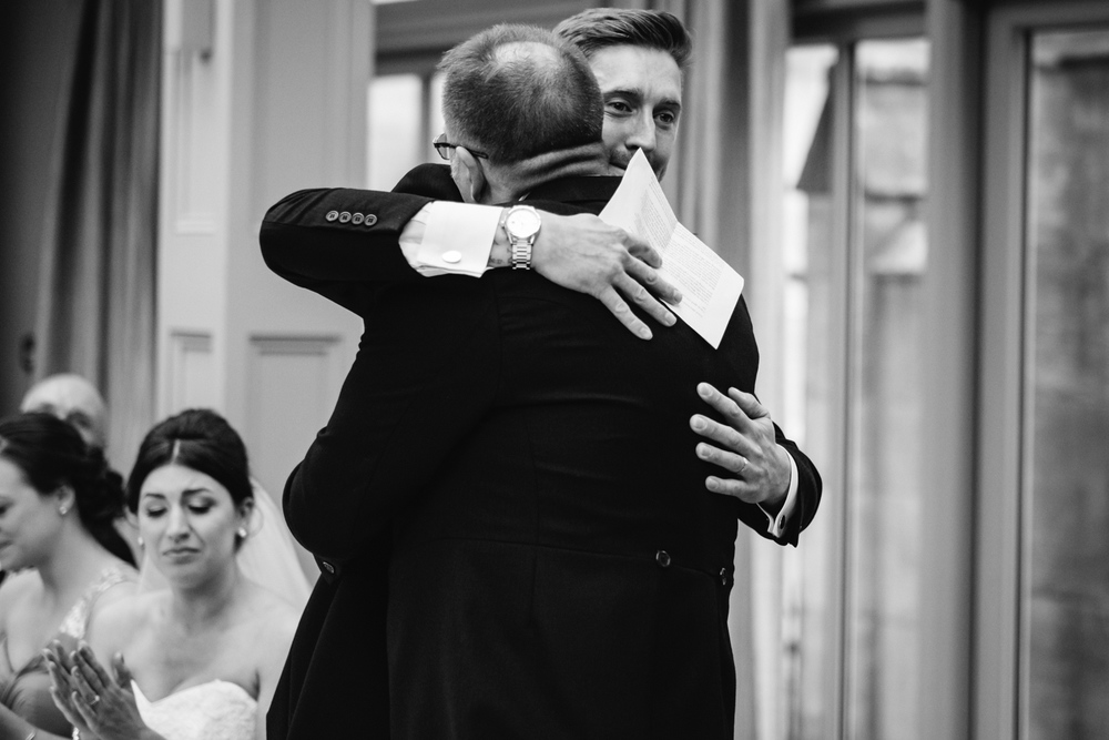 Copy of Speeches at Solihull Wedding John Colson Photography