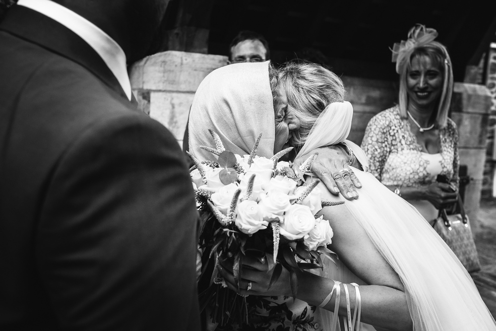 Bride at Leicestershire Wedding John Colson Photography