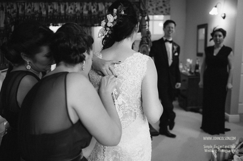 Bridal Preparations, New House Farm Wedding