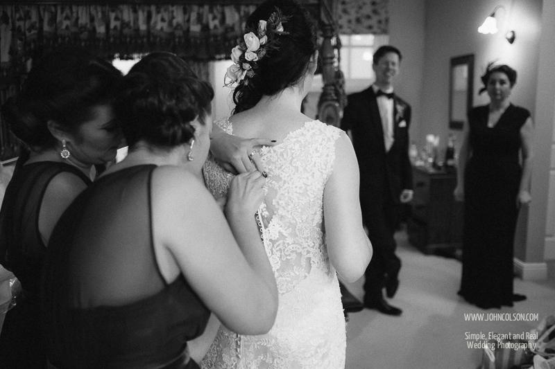 Bridal Preparations, New House Farm Wedding