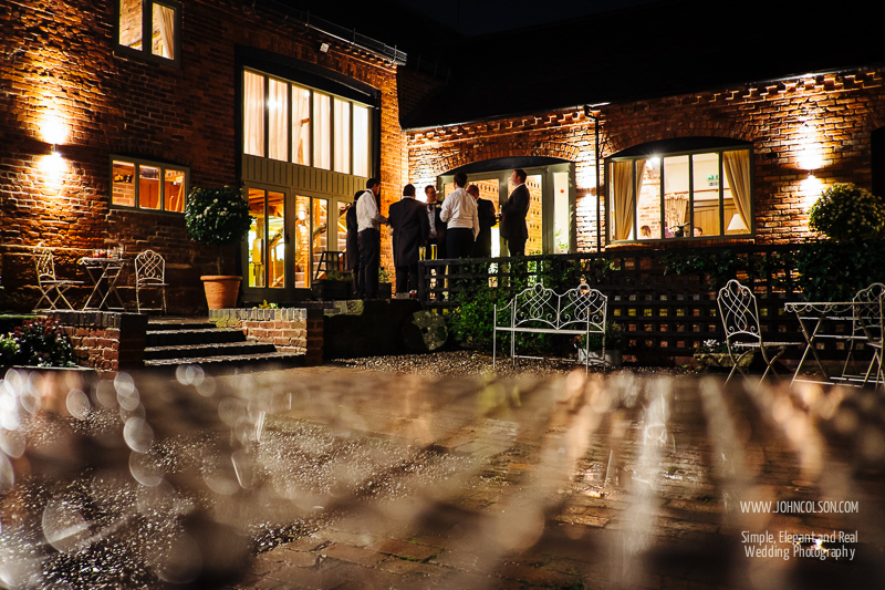 Winter Wedding at Curradine Barns