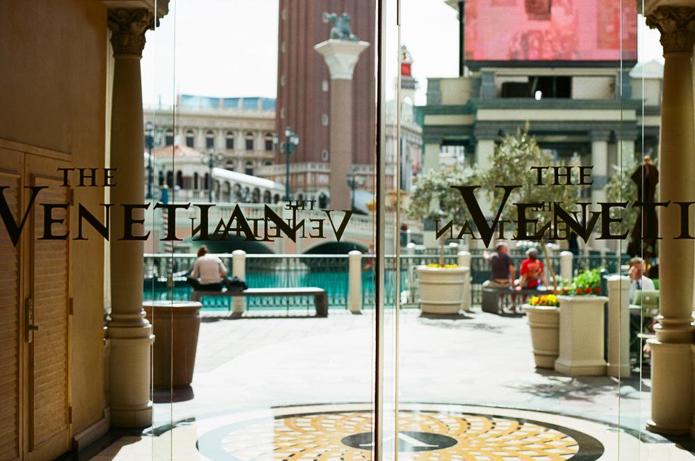 The Venetian Hotel, Las Vegas. Canon AE-1 with 50mm f1.4 lens and Kodak Ektar 100 35mm film.