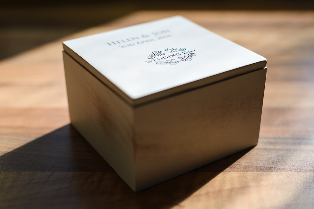 My new Wedding Photograph USB boxes have a beautiful vintage feel to them and are perfect for being left on show rather than being placed in a cupboard somewhere!