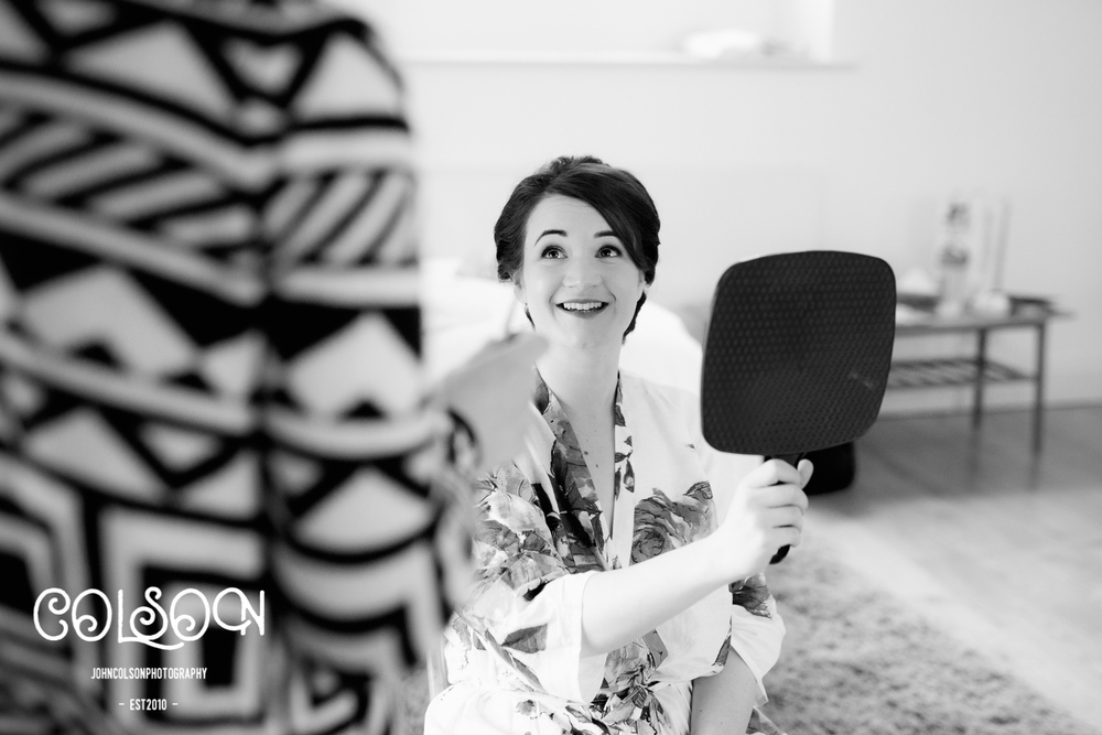 Bridal Preparations at Broughton Hall Estate, Yorkshire.