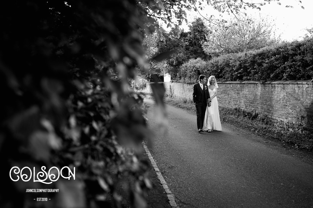 Bride and Groom photography at Leicestershire Wedding.