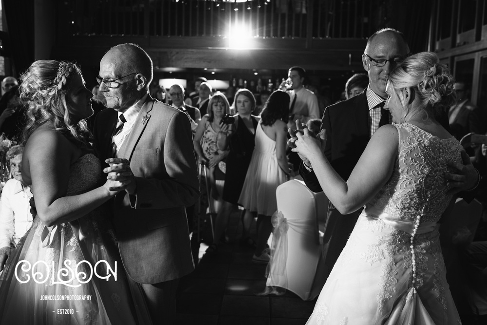 Father and Daughter dance... kinda tricky lighting and space wise but I love this shot :-)