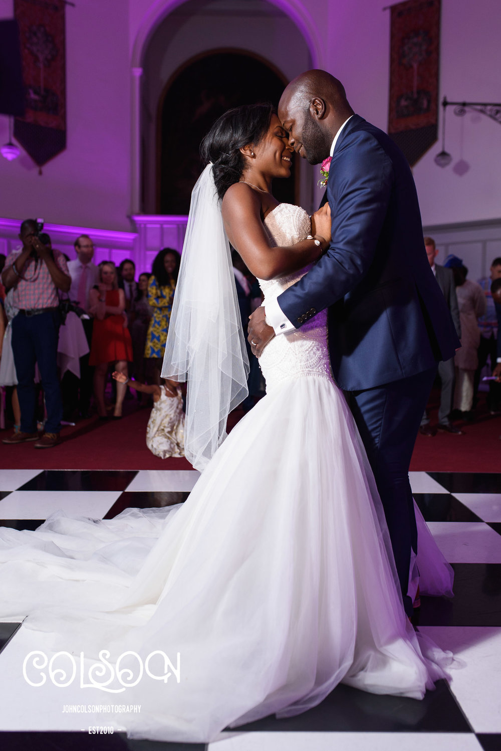 Toyosi and Dolapo's first dance. A perfect end to a wonderful couple of days for me....