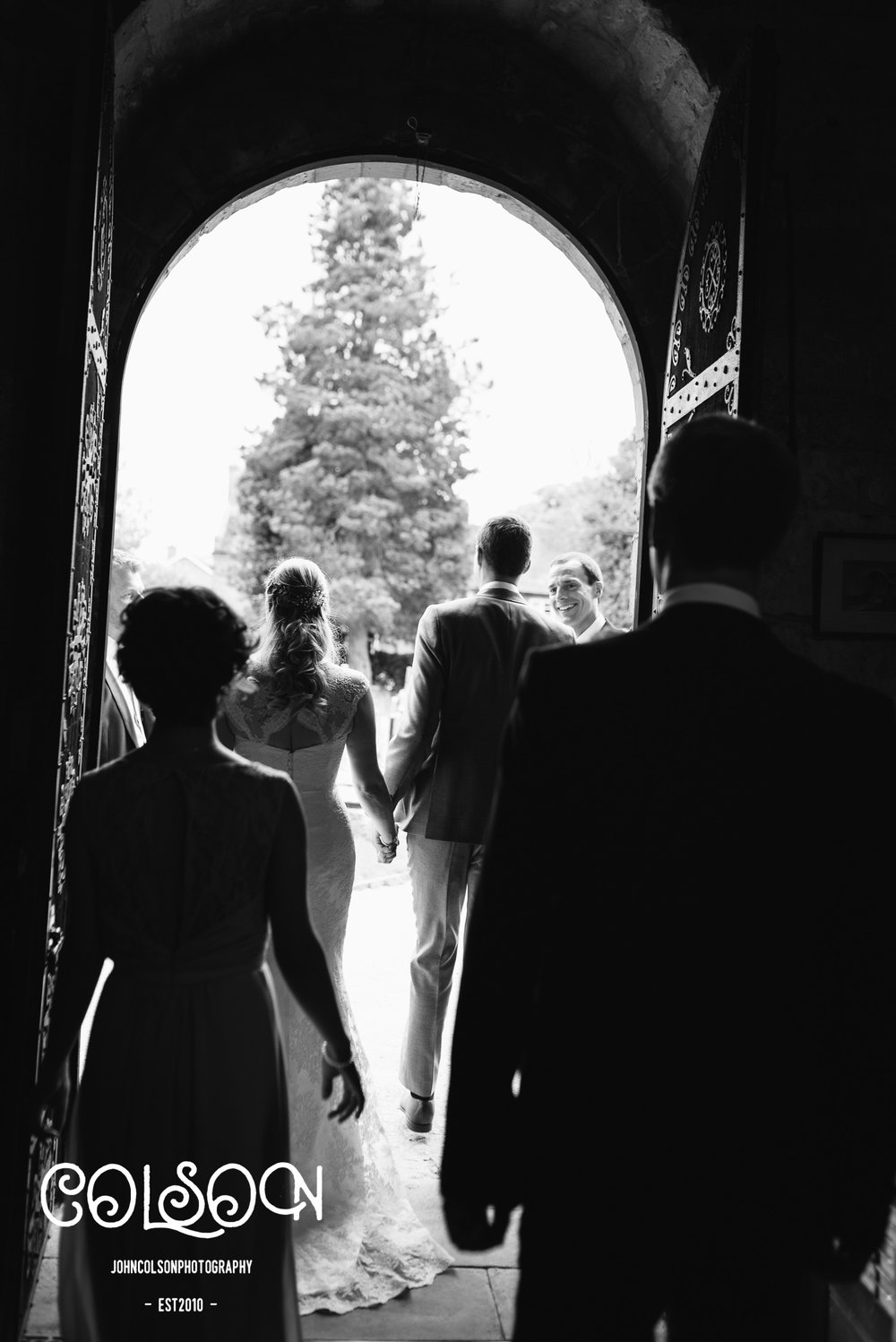 I do like a nice 'leaving the church' silhouette shot. This may be one of my favourites...