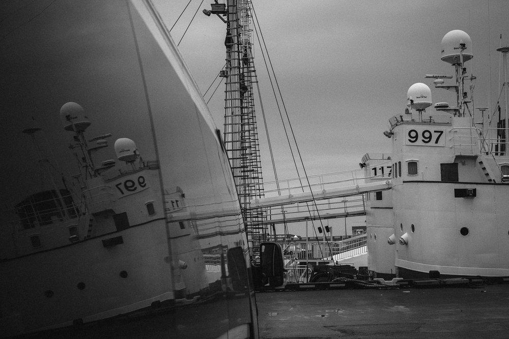 Reykjavik harbour.