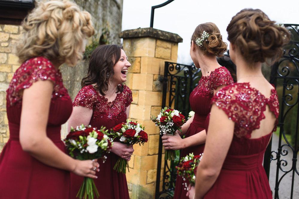 Those amazing Bridesmaid dresses!