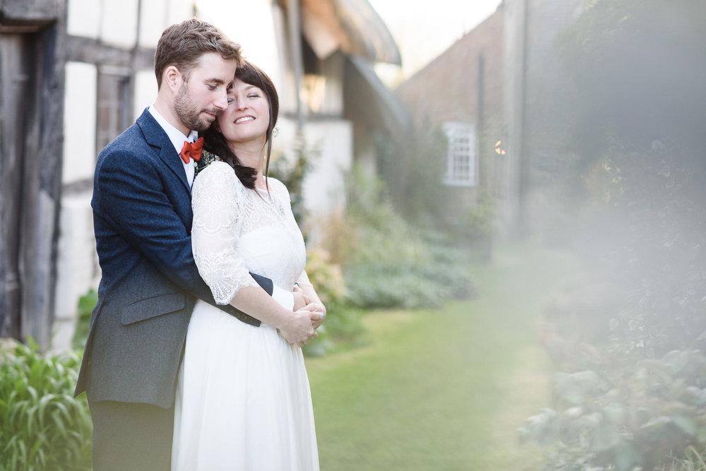 Ed and Audrey - The Fleece Inn, Bretforton, Worcestershire.