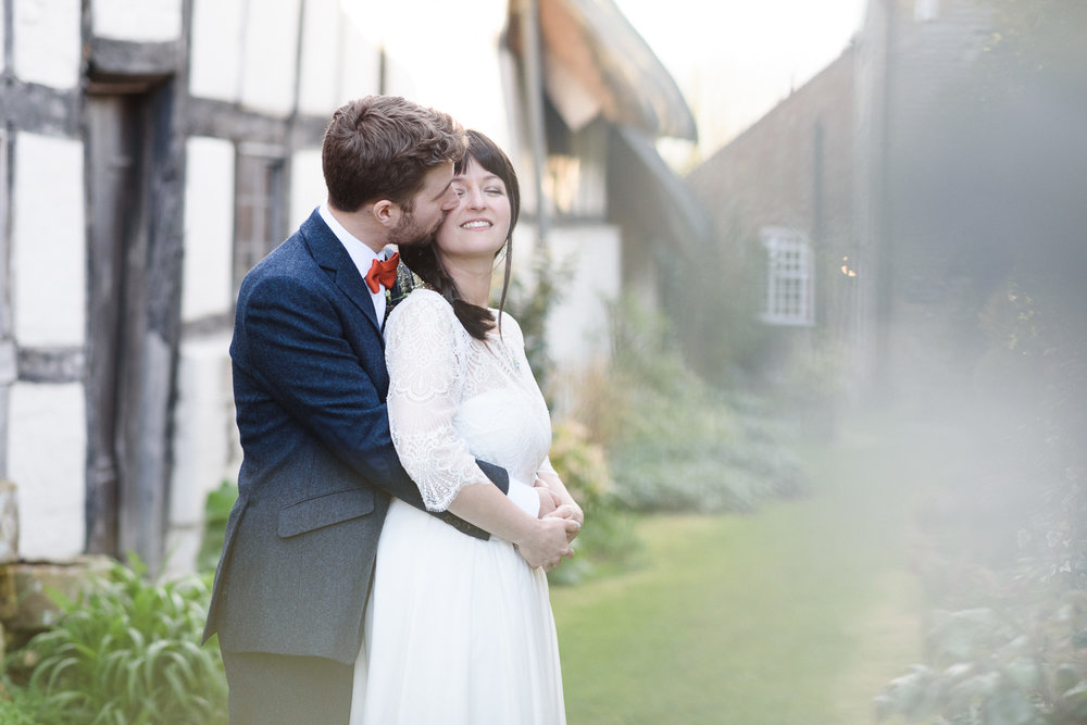 Wedding Photographer at The Fleece Inn, Bretforton, Worcestershire.