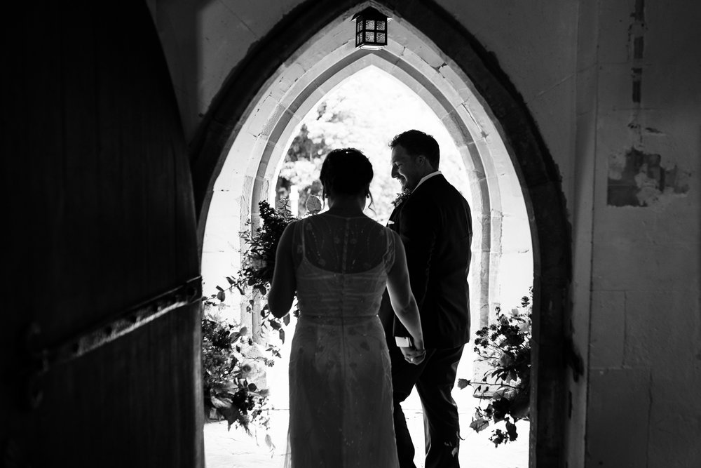 Jen and Nick. - Pudleston & Burton Court, Herefordshire.