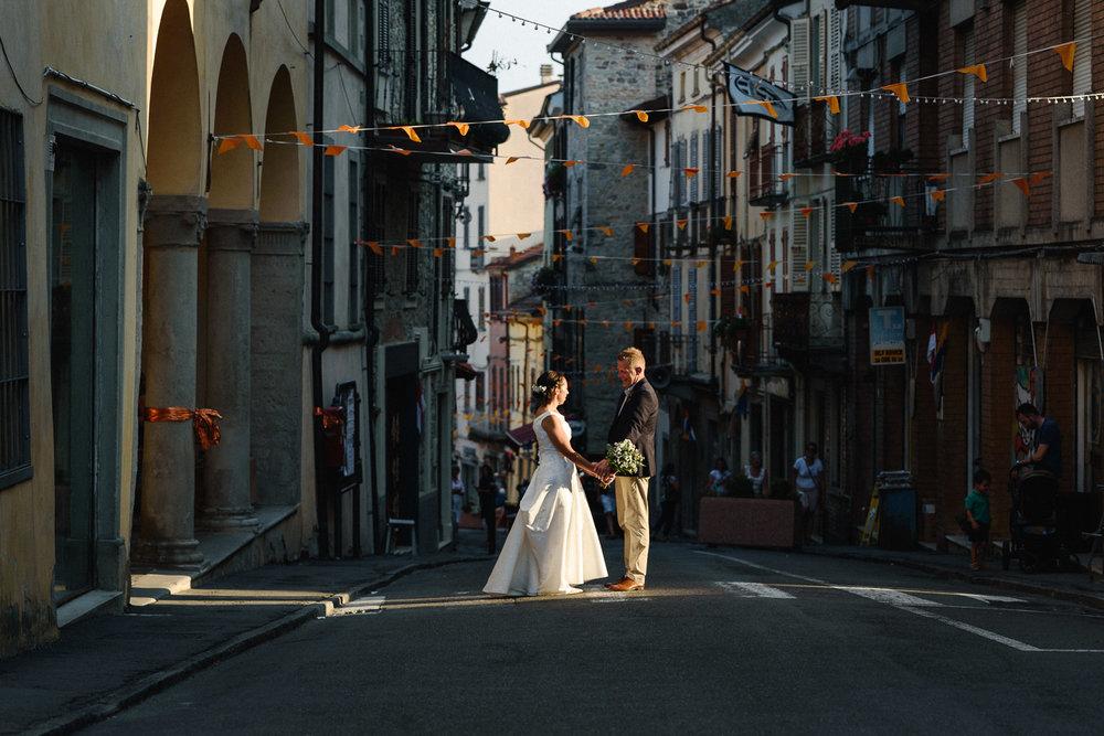 Laura and Stuart - Credarola and Bardi, Province of Parma, Italy.