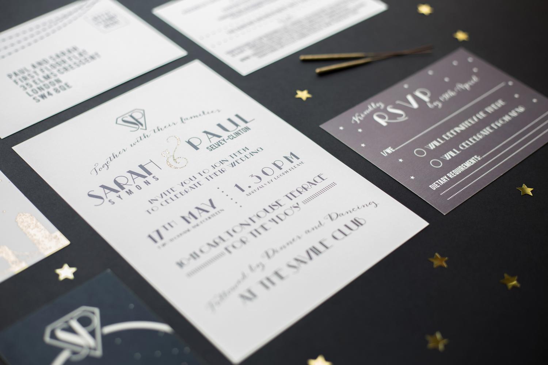 KATE RUTH ROMEY - BESPOKE WEDDING STATIONERY — SARAH & PAUL