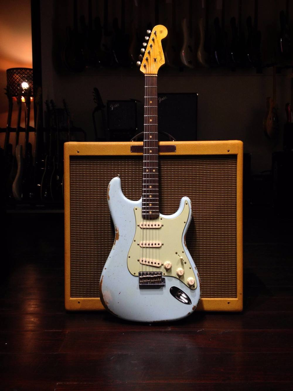 Stratocaster 62' CS Rockbox Order.