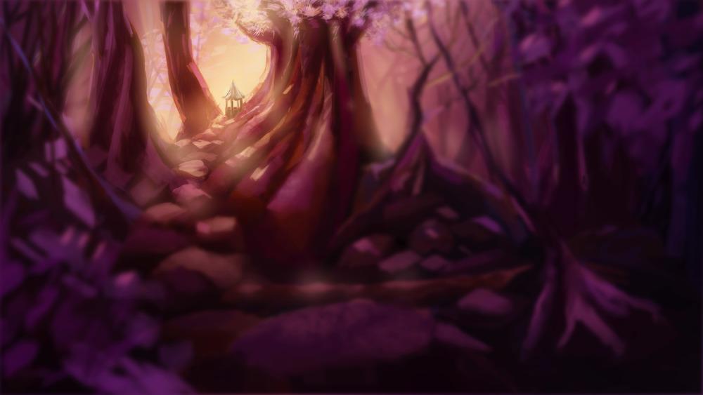 Lou's imaginary Fairy World