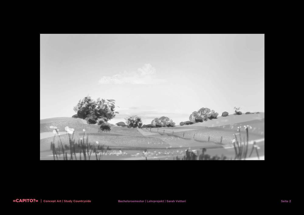 Main Scenery: black-and-white study